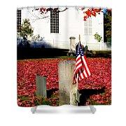 Revolutionary War Hero Shower Curtain
