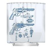 Revolver Patent E.t Starr Shower Curtain