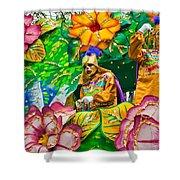Rex Mardi Gras Parade X Shower Curtain
