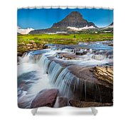 Reynolds Creek Falls Shower Curtain