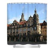 Rezidenzschloss - Dresden  -  Germany Shower Curtain