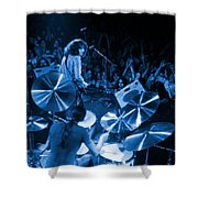 Rg #10 In Blue Shower Curtain