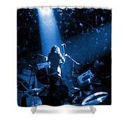 Rg #7 In Blue Shower Curtain