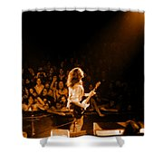 Rg #8 In Amber Shower Curtain