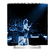 Rg #8 In Blue Shower Curtain
