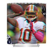 Rg3 In 3d Shower Curtain