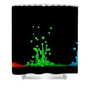 RGB Shower Curtain