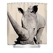 Rhinocerosafrica Shower Curtain