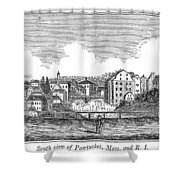 Rhode Island, Usa, 1839 Shower Curtain