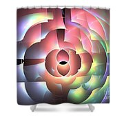Rhodium Shower Curtain