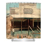 Rhyolite Mercantile Shower Curtain