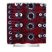 Rhythm From The Series The Elements And Principles Of Art Shower Curtain