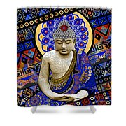 Rhythm Of My Mind Shower Curtain by Christopher Beikmann
