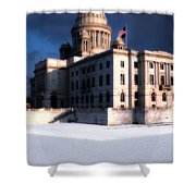 Ri State Capitol 1 Shower Curtain