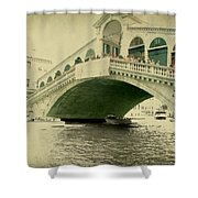 Rialto Bridge Shower Curtain