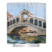 Rialto Bridge Shower Curtain