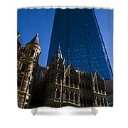 Rialto Building Melbourne Shower Curtain
