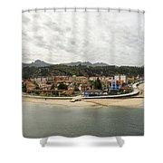 Ribadesella Shower Curtain