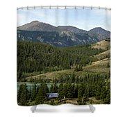 Ribbon Creek Rec Area Shower Curtain
