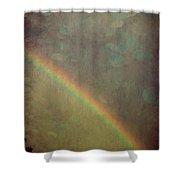 Ribbon Of Rain  Shower Curtain