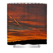 Ribbons Of Light Shower Curtain