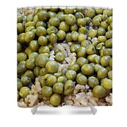 Rice And Peas Shower Curtain