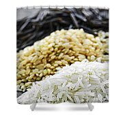 Rice Colors Shower Curtain