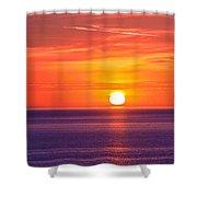 Rich Sunset Shower Curtain
