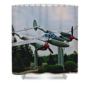 Richard Bong Memorial Shower Curtain