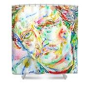 Richard Brautigan  Shower Curtain