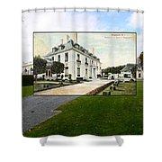 Richard Gambrell Residence In Newport Rhode Island Shower Curtain