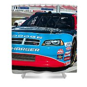 Richard Petty Driving School Nascar  Shower Curtain
