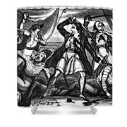 Richard Worley (c1686-1719) Shower Curtain