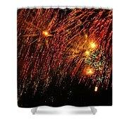 Richmond Fireworks Shower Curtain