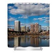 Richmond Skyline Shower Curtain