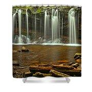 Ricketts Glen Oneida Falls Shower Curtain