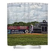 Rickwood Classic Baseball - Birmingham Alabama Shower Curtain