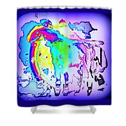 If You Can't Ride A Rainbow  Shower Curtain