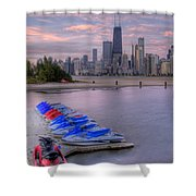 Ride On The Wild Side Shower Curtain