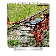 Ride The Rail Shower Curtain