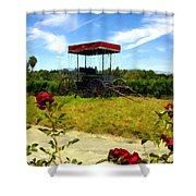 Rideau Vineyards Solvang California Shower Curtain