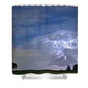 Riders On The Storm  Shower Curtain