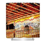 Rides At The Evergreen State Fair Shower Curtain