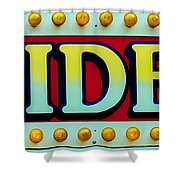 Rides Shower Curtain
