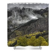 Ridges Of Fire Shower Curtain