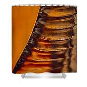 Ridges Shower Curtain by Omaste Witkowski