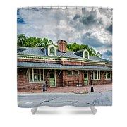 Ridgway Depot 3518c Shower Curtain