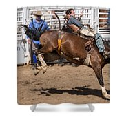 Riding Bronco Shower Curtain