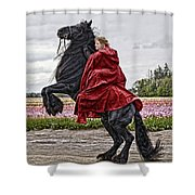 Riding High Shower Curtain