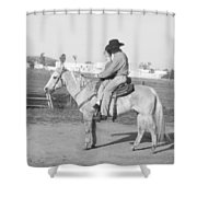 Riding Lesson Shower Curtain